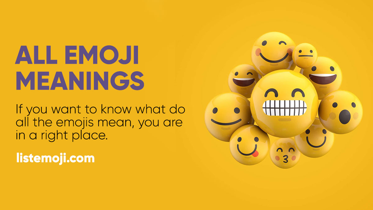 Emoji Meanings and Encyclopedia